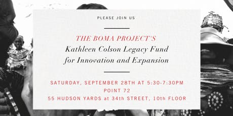 The BOMA Project's Kathleen Colson Legacy Fund for Innovation and Expansion tickets