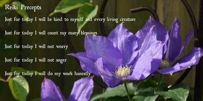 REIKI Level 1 Self healing  OCTOBER 26th 10:00AM-3:30