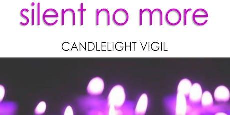 Silent No More - Candlelight Vigil (Domestic Violence Awareness Event) entradas