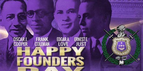 Omega Psi Phi Founders Banquet tickets