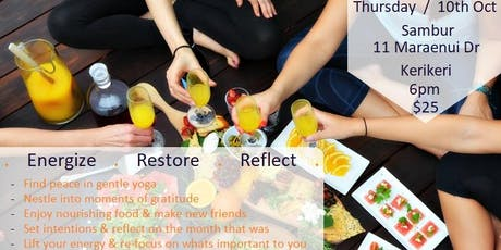 Yoga Wellness Gathering - Energize, Restore, Reflect tickets