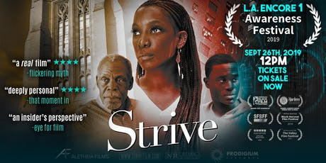 Strive Film - L.A Encore Screening! tickets