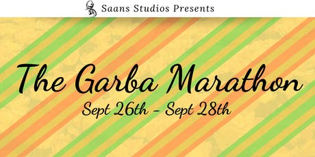 Saans Studios Presents: The Garba Marathon tickets