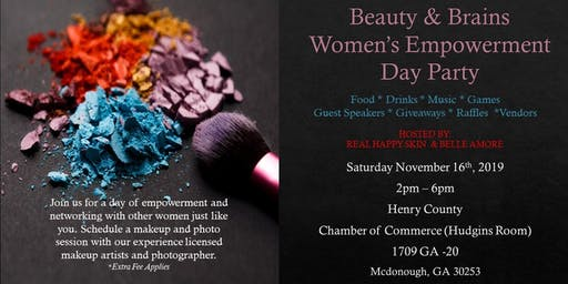 Beauty & Brains Women's Empowerment Day Party