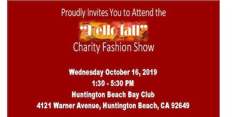 """Hello Fall"" Fashion Show tickets"