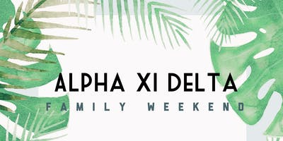 Alpha Xi Delta Family Weekend Luncheon 2019