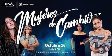 "Capital Zonne - ""Mujeres de Cambio"" entradas"