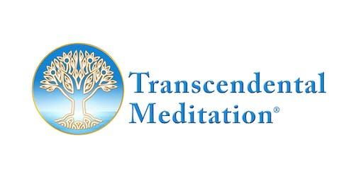 Free Transcendental Meditation Introductory Talk