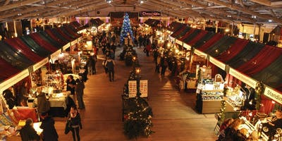 Esher Christmas Market Shopping Evening