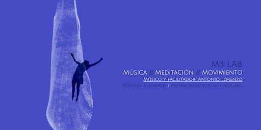 M3 Lab: Música, Meditación, Movimiento.