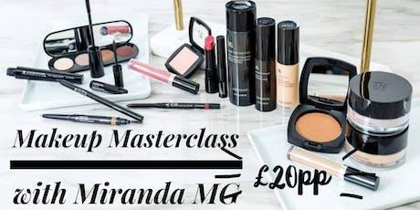 Makeup Masterclass with Miranda MG tickets