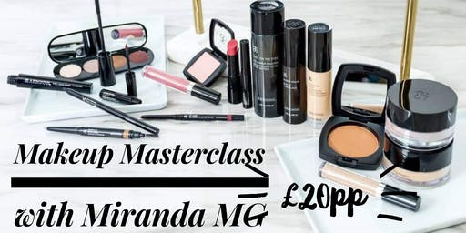 Makeup Masterclass with Miranda MG-Raising Funds for Breast Cancer Research