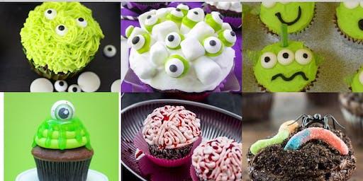 Kids Cupcake Class: Monsters, Slime, Aliens, Zombies