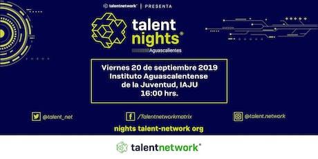 Talent Night Aguascalientes 2019 boletos