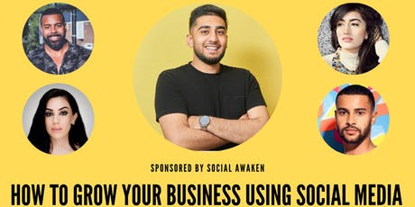 How to Grow Your Business Using Social Media tickets