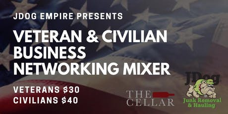 VETERAN & CIVILIAN BUSINESS NETWORKING MIXER tickets