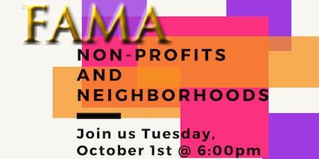 Non-Profits and Neighborhoods tickets