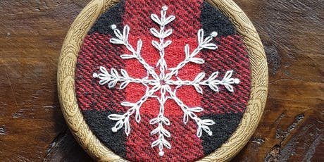 Christmas Tree Ornament Embroidery - 14 December 2019 tickets