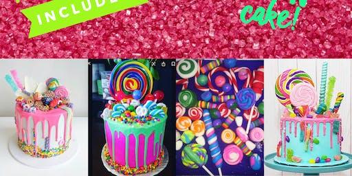 Candy Land Cake Class