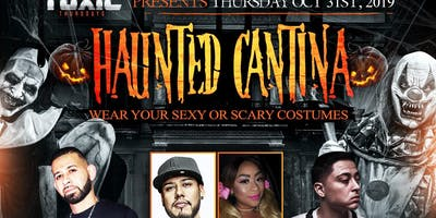 The Haunted Cantina: A Halloween Night Party at Ixtapa