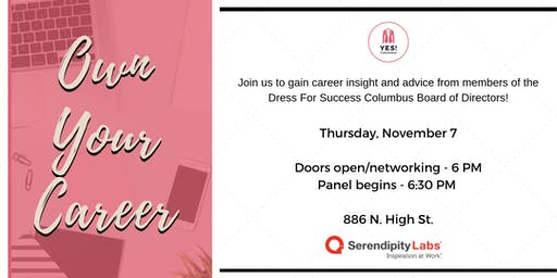 Own Your Career!  A Panel Event with the Dress for Success Columbus Board