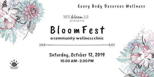 BloomFest Community Wellness Clinic