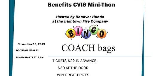 Coach Bingo to Benefit CVIS Mini Thon