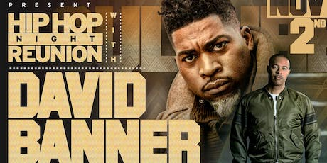 David Banner at The Varsity - SECTIONS ONLY tickets
