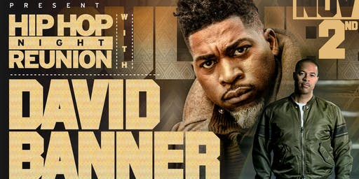 David Banner at The Varsity - SECTIONS ONLY
