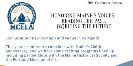 Honoring Maine's Voices: Reading the Past, (W)riting the Future tickets