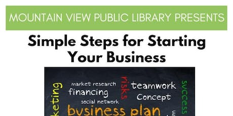 Simple Steps for Starting Your Business - Session 4 Funding Sources & Next tickets