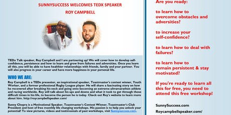 Overcome Adversity & Unlock Your Potential  tickets