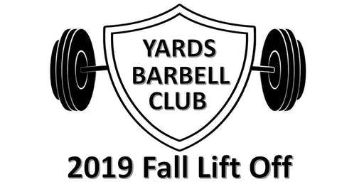 2019 Yards Barbell Fall Lift Off