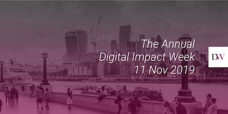 Digital Impact Week 2019 - London tickets