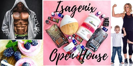 Isagenix Open House tickets