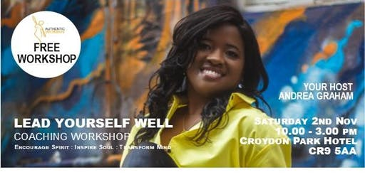 Lead Yourself Well! Coaching Workshop