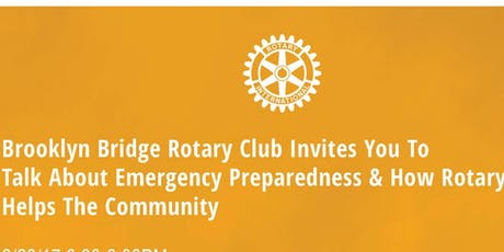 Emergency Preparedness and How Rotary Helps the Community tickets