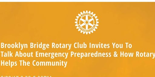 Emergency Preparedness and How Rotary Helps the Community