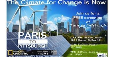 Paris to Pittsburgh Free Film Screening