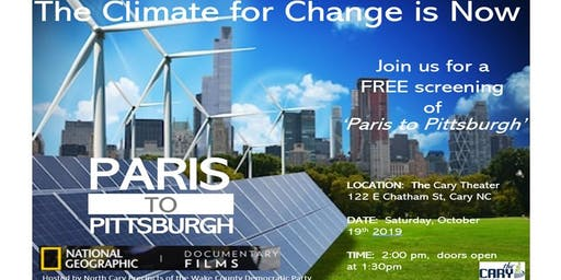 Paris to Pittsburgh Free Film Screening