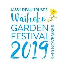 Waiheke Garden Festival, Jassy Dean Trust logo