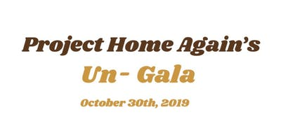 Project Home Again's Un-Gala
