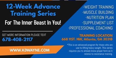 12 - Week Advanced Training Series