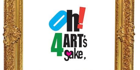 OH! 4 ART'S SAKE, 2019 WINDSOR ENDOWMENT FOR THE ARTS FUNDRAISER tickets