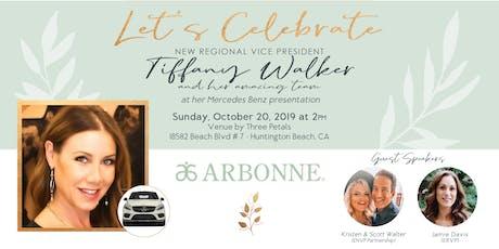 Tiffany Walker's Mercedes Benz Presentation! tickets
