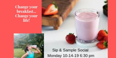 Sip and Sample Social