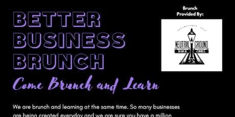 Better Business Brunch tickets