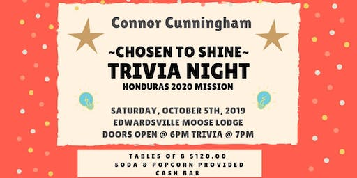 Connor Cunningham Trivia Night