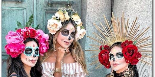 Festival of the Dead Flower Crown  Halloween Workshop (Floristry)
