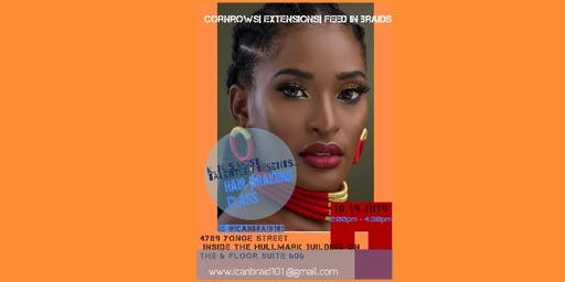 Learn the art of braiding hair. gain new skill sets